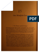 One Manifesto Less