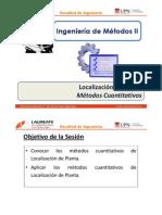 T 3.3 - IM II - UPN - Localización de Planta - Métodos Cuantitativos