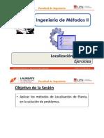 T 3.4 - IM II - UPN - Localización de Planta - Ejercicios