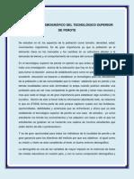 12 EL ENTORNO DEMOGRÁFICO DEL TEC