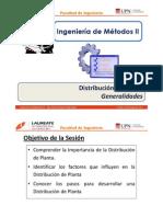 T 4.1 - IM II - UPN - Distribución de Planta - Generalidades