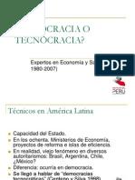 2007 Agosto Dargent Democracia Tecnocracia