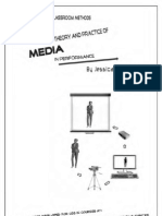 Some Basic Classroom Methods for Teaching The Theory and Practice of Media in Performance