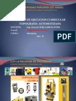 Topografia Automatizada - Ing García Poma