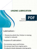 Engine Lubrication