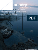 Dirty Laundry - 全球服裝品牌的中國水污染調查 - EN - 11-07-13
