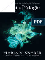 Scent of Magic by Maria V Snyder - Chapter Sampler
