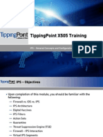 TippingPoint X505 Training - IPS - General Concepts and Configuration
