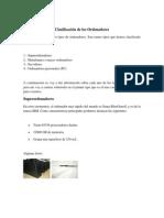 Tipos de Ordenadores Estructura y Funcionamiento