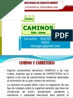 Clase Curso Caminos 2011 2