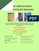 Kursus Jahitan Baju Melayu Dan Tudung DIS 2012& 2013
