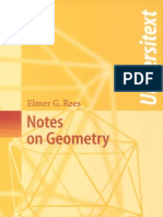 Notes on Geometry_Elmer G. Rees