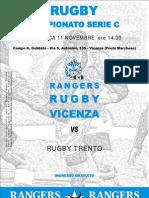 Pieghevole Rangers Rugby Vicenza 08-09 Nr.04