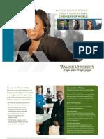 PhD Health Services Brochure