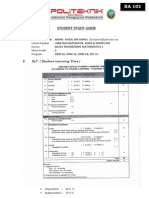 Student Study Guide Jun 2012