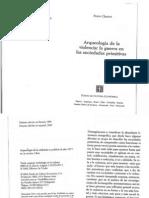 50410056 Pierre Clastres Arqueologia de La Violencia