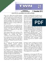 Third World Network – Doha Update #21