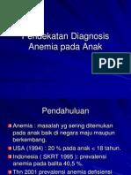 Pendekatan Diagnosis Anemia Pada Anak