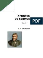 23182313 C H Spurgeon Apuntes de Sermones Vol II