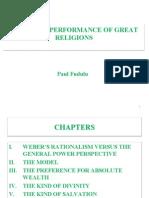 Economic performance of great religions