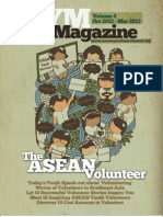AYM Magazine # Vol. 4 (October 2012-March 2013) The ASEAN Volunteer