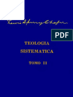 Teologia Sistematica - Lewis s Chafer Tomo 2 Vol 4
