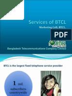 Services of BTCL