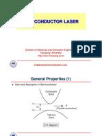 [Quantum Electronics] Ch-9 Semiconductor Laser-1