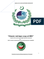 Classic red-tape coup at HEC