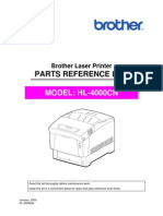 Brother HL-4000cn Parts Manual