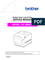 Brother HL-4000cn Service Manual