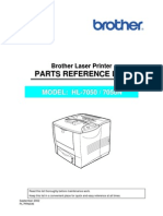 Brother HL-7050(n) Parts Manual