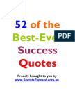 52 Best Ever Success Quotes[1]