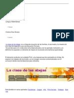 La Clase de Las Abejas, Un Blog de Encuentro