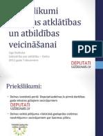 Līga Stafecka_Priekšlikumi Saeimas atklātības un atbildības veicināšanai AG