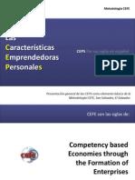 Las Caracteristicas Emprendedoras Personales (CEPs)