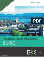 Opalesque 2012 Zurich Roundtable