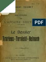Souvenirs de l'Affaire Dreyfus (Louis Cuignet, 1911)