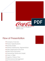 distribution process of coca cola