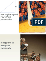 10054413 How to Give Power Point Presentation