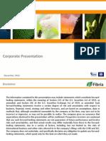 Corporate Presentation (December)