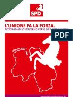 Regierungsprogramm italienisch