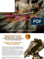 Brochure Nomad Dance Fest-India 2013