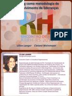 Coaching Como Metodologia de Desenvolvimento de Liderancas Lilian e Cleiane