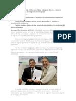 Ministro de Agricultura, Milton Von Hesse Inaugura Obras y Presenta Diplomado de Planes de Negocios en Arequipa