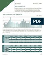 Nest Report - November 2012