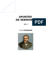 23182307 C H Spurgeon Apuntes de Sermones Vol I