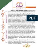 VSAAC November Newsletter 2012