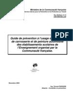 Guide prévention usage ateliers