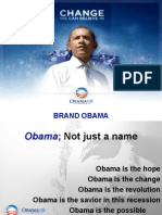 Obama. The revolutionary (advertising) campaign